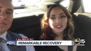 las vegas shooting arizona woman continues miraculous recovery