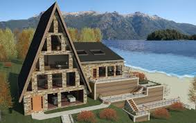 revitcity com image gallery a frame mountain house on a lake