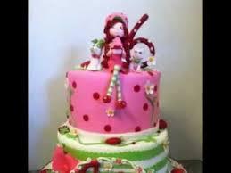strawberry shortcake cake decorating ideas youtube
