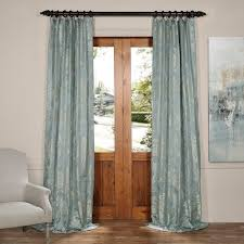 Gold And Blue Curtains Amazon Com Half Price Drapes Jqch 20122010 96 Magdelena Faux Silk