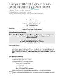 examples of resumes 11 best sample resume format easy samples
