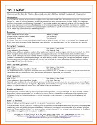 title your resume examples nanny title on resume madrat co
