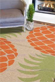 Orange And Brown Area Rug Jaipur Coastal I O Pina Colada Indoor Outdoor Coastal Pattern