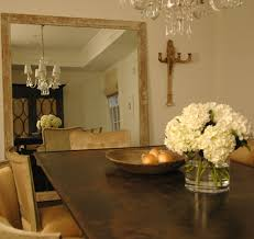 Large Dining Room Mirrors Make A Stand Against The Wall Mirror For Pennies Screams