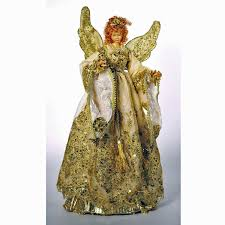 christmas angel tree topper christmas lights decoration