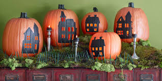 Halloween Pumpkin Decorating Ideas Easy Halloween Pumpkin Carving Patterns For Beginners 2017 Scary