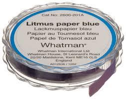 How To Make Litmus Paper At Home - whatman 2600 201a acid alkali litmus paper dispenser litmus blue