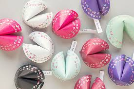 Where Can You Buy Fortune Cookies Free Printable Valentine Paper Fortune Cookies Gift U0026 Favor