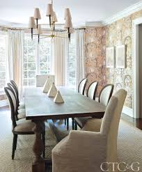 Wallpaper Designs For Dining Room Samantha Knapp Designs A Greenwich Home That U0027s Both Playful And
