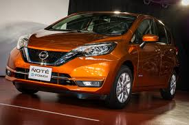 nissan note 2017 nissan note facelift production starts in japan u2013 new e power