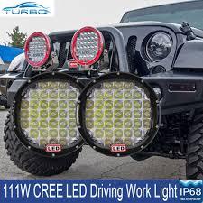 led driving lights automotive 9 inch cree round spot led driving lights off road 4x4 black 12v 24v