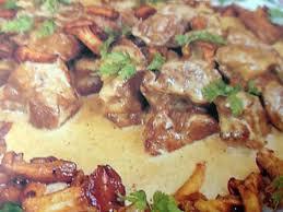 cuisiner le collier de veau recette de sauté de veau aux chignons des bois