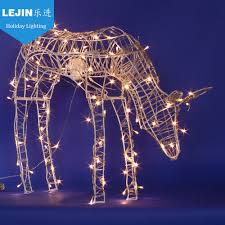 Giraffe Christmas Light Decoration by Led Christmas Reindeer Outdoor Led Christmas Reindeer Outdoor