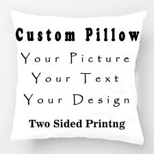 design your own pillowcase aliexpress buy diy personalized custom logo design cushion