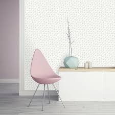 Pink Removable Wallpaper by Tempaper Bobby Berk Connect Washed On White Self Adhesive