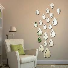 water drops raindrop shape acrylic mirror wall sticker living room water drops raindrop shape acrylic mirror wall sticker living room bedroom diy decorative wall sticker back self adhesive sticker walls stickers decor from