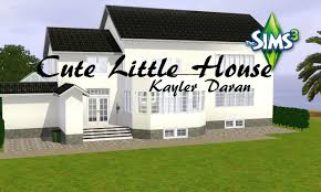cute little house cute little house the sims 3 speed build youtube