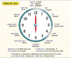 Time Clock Worksheets Zimflex French Year 8 Term 1