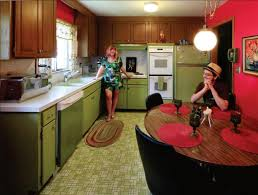 avocado green kitchen cabinets what s old is cool in decor