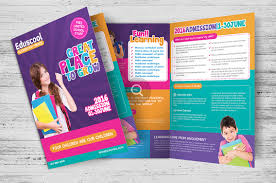 school brochure design templates 10 awesome school brochure templates designs