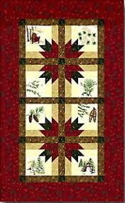 in the pines table runner quilt kit pattern moda