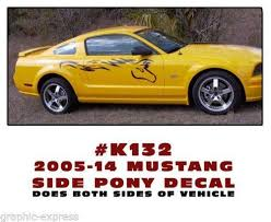 decals for ford mustang mustang decals ebay
