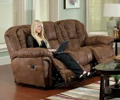 Loveseat Recliners Faux Leather Contour Reclining Sofa U0026 Loveseat Set