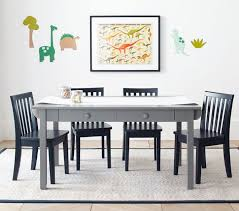 Childrens Folding Table And Chair Set Carolina Craft Table U0026 4 Chairs Set Pottery Barn Kids