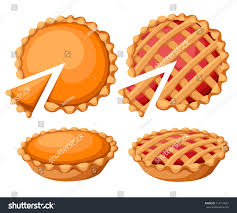 pies vector illustrationthanksgiving pumpkin pie stock
