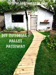 diy pdf tutorial pallet garden pathway u2022 1001 pallets u2022 free