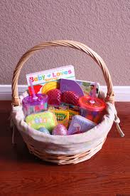 easter gift baskets for toddlers toddler no candy easter basket ideas leeandashley