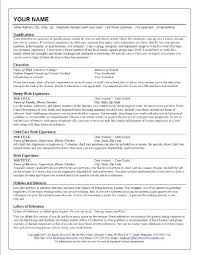 resume templates that stand out nanny resumes the standout nanny resume nanny resume template
