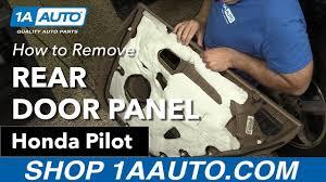 honda pilot parts 2007 how to remove install rear door panel 2007 honda pilot