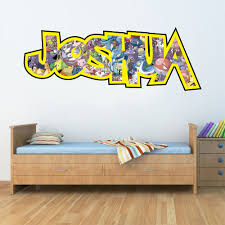 childrens personalised name wall stickers pokemon boys girls childrens personalised name wall stickers pokemon boys girls