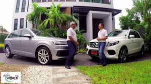 land rover thailand road test thai mercedes gle500 e vs audi q7 youtube