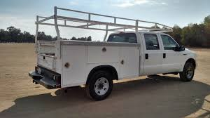 1997 Ford F250 Utility Truck - 2005 ford f250 crew cab royal utility bed 4x4 sas motors