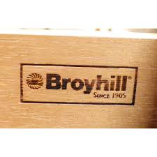 Broyhill Computer Armoire by Broyhill Distressed Triple Dresser W Mirror Upscale Consignment