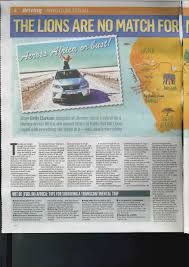 lexus enthusiast website jeremy clarkson u0027s daughter drives lexus rx 450h across africa