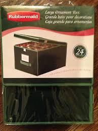 rubbermaid ornament storage box large 20 00 picclick