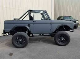 future ford bronco 1969 ford bronco for sale on classiccars com