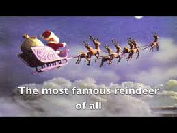 rudolph red nosed reindeer lyrics video