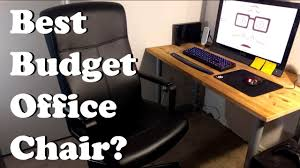 Budget Office Furniture by Best Budget Office Chair Ikea Millberget Review Youtube
