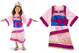 Girls Size 5 Halloween Costumes Amazon Disney Store Princess Mulan Halloween Costume Kimono