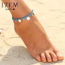 ankle bracelet images 17km 1pcs multiple vintage anklets for women bohemian ankle jpg