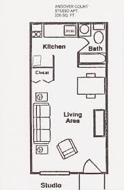 Elegant One Bedroom Apartment Floor Plans Designing Homes - One bedroom apartment plans and designs