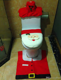 Santa Claus Rugs Universal Adjustable The Santa Claus Toilet Seat Cover Rug