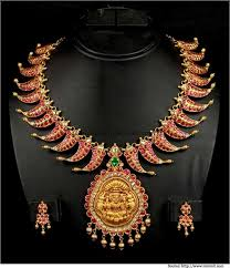 antique jewelry necklace sets images Antique jewellery necklace set south india jewels jpg