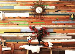 made reclaimed wood wall installations by r r designworks