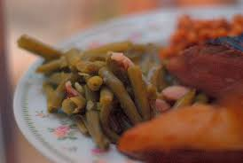 southern style green beans using a pressure cooker