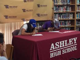 College Baseball Letter Of Intent ashley track standouts stacey keck sign letters of intent